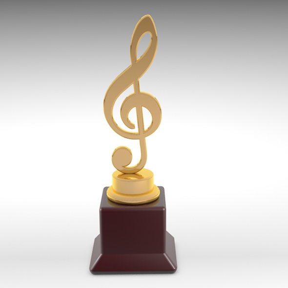 3d music award - 3DOcean Item for Sale
