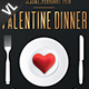 Valentine Dinner Poster / Flyer V02 - GraphicRiver Item for Sale