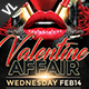 Valentine Affair Poster / Flyer V03 - GraphicRiver Item for Sale
