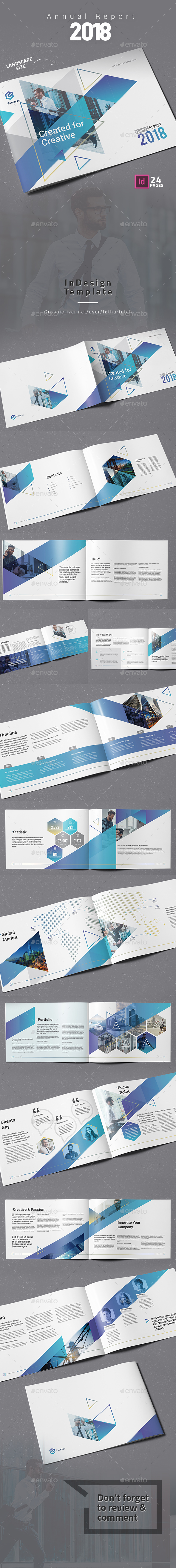 Annual Report 2018 Landscape - Corporate Brochures