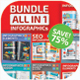 All in 1 Infographics - GraphicRiver Item for Sale
