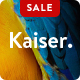Kaiser – A Creative Portfolio WordPress Theme