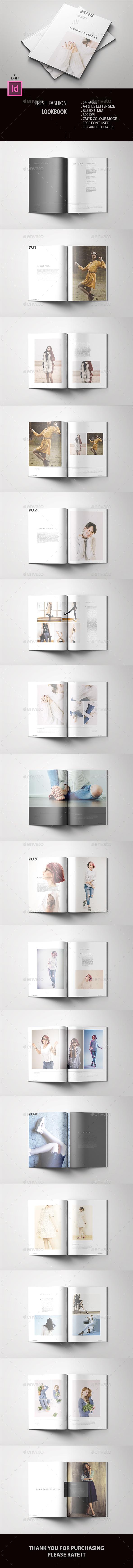 Fresh Fashion Lookbook - Catalogs Brochures