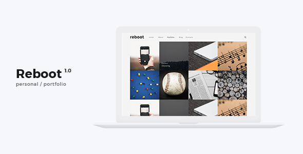 Reboot - Personal Portfolio / Agency Template - Personal Site Templates