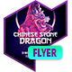 Club Flyer: Chinese Stone Dragon - GraphicRiver Item for Sale