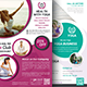 Yoga Flyers Bundle template