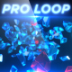 Diamond Glass Gem Shards - Professional VJ Background Loop - VideoHive Item for Sale