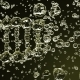 Yellow Transparent DNA Molecule Model