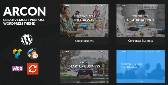 Arcon - Creative Multi-Purpose WordPress Theme