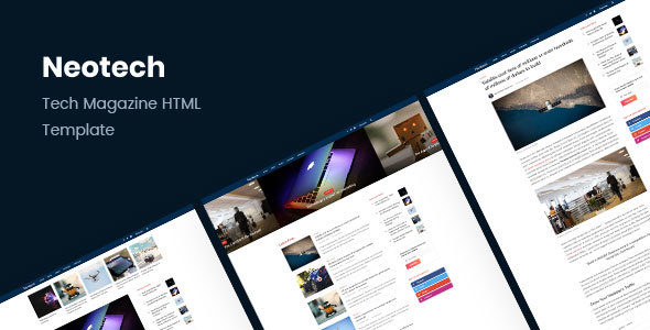 Image of Neotech | Tech Magazine HTML Template
