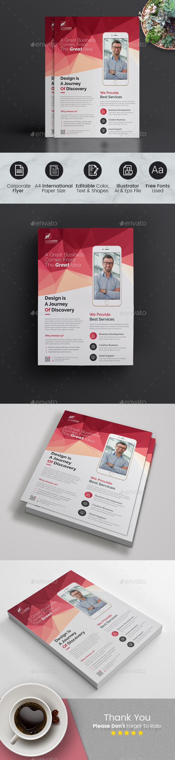 Abstract Flyer - Corporate Flyers