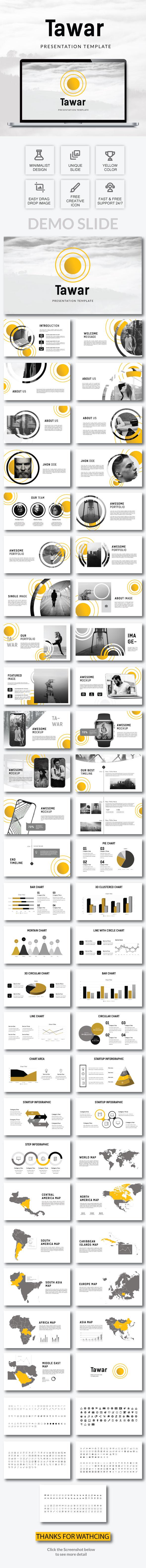 Tawar - Powerpoint Template - PowerPoint Templates Presentation Templates