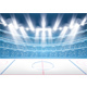 Ice Hockey Stadium with Spotlights - GraphicRiver Item for Sale
