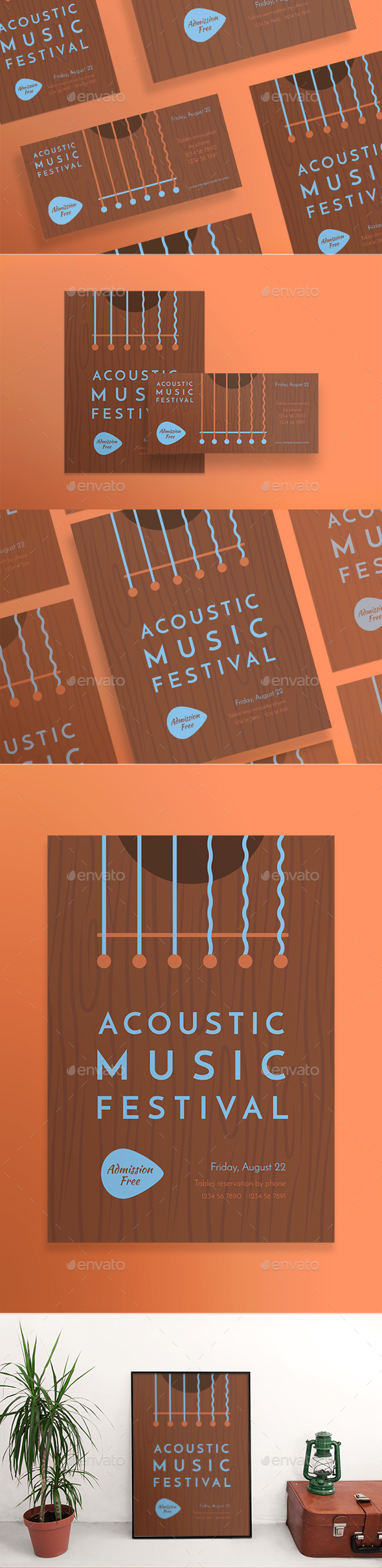 Music Festival Flyers - Clubs & Parties Events