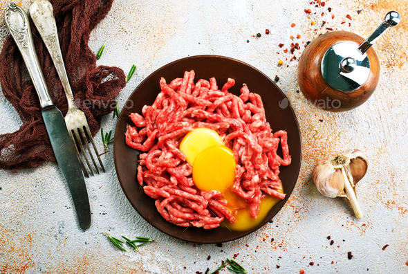 minced meat - Stock Photo - Images