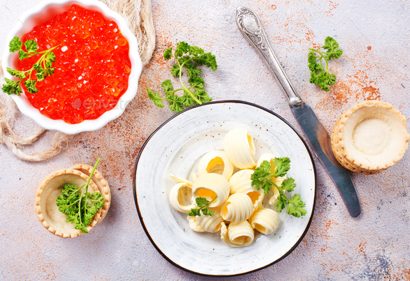 ingredients for butterbroads - Stock Photo - Images