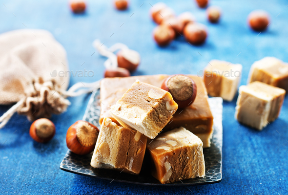 nougat - Stock Photo - Images