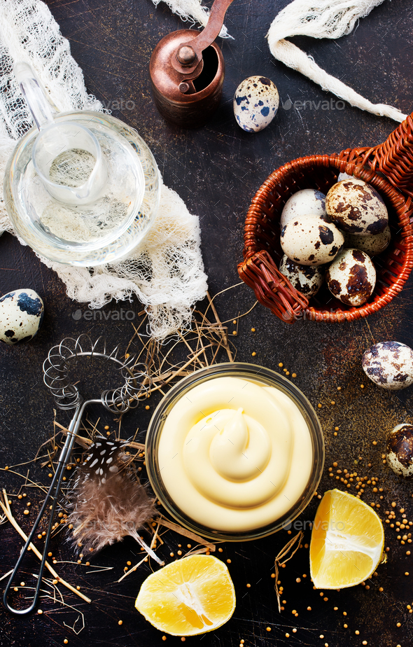 mayonnaise - Stock Photo - Images
