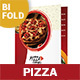 Pizza Restaurant Bifold / Halffold Menu 2