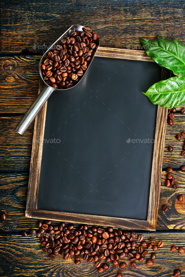 coffee background - Stock Photo - Images
