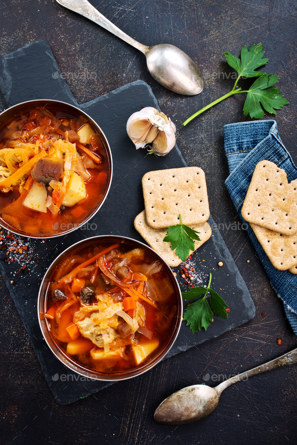 Borsch - Stock Photo - Images