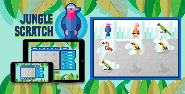 Jungle Scratch - HTML5 Game - CodeCanyon Item for Sale