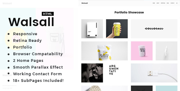 Image of Walsall - Minimal Digital Agency HTML Template