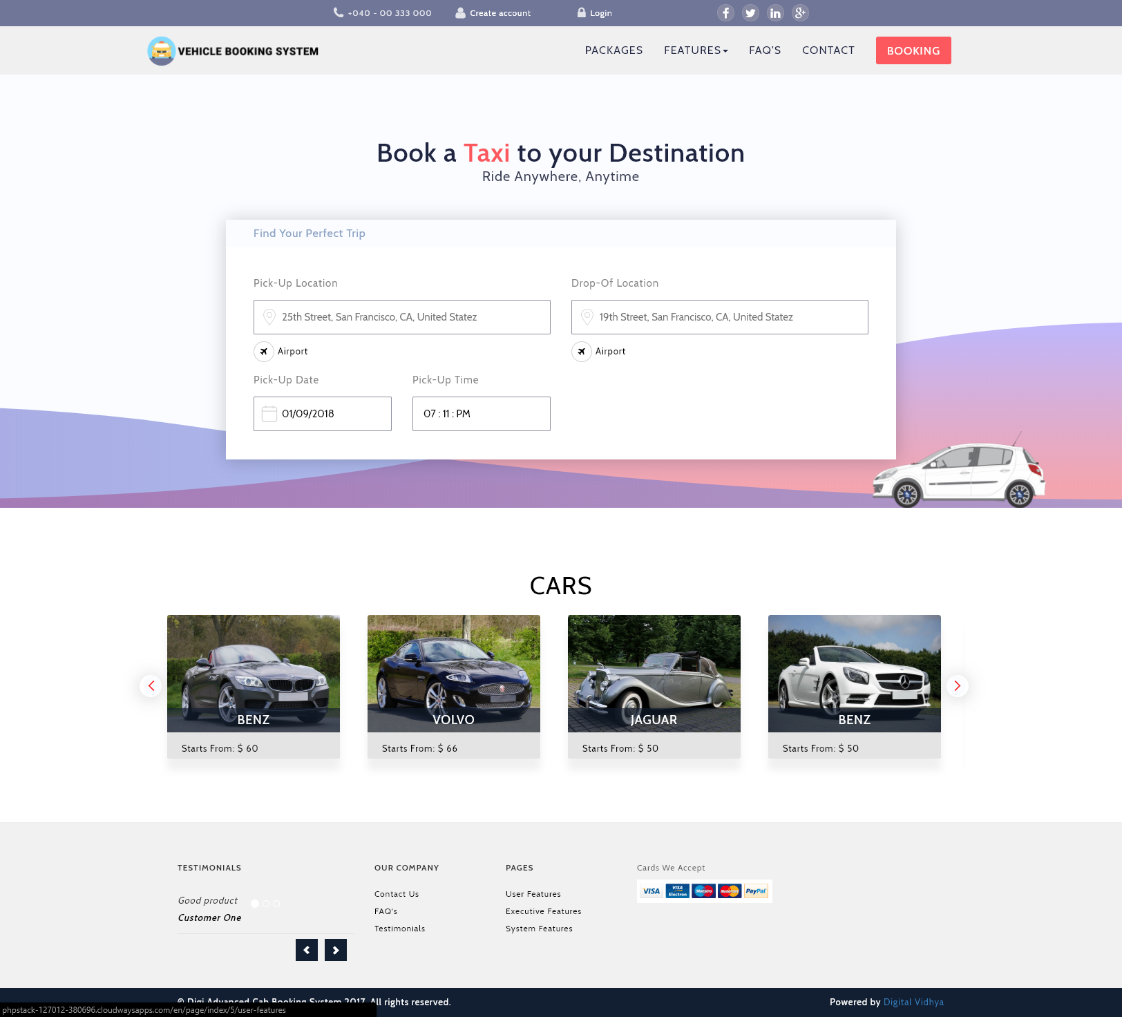 online vehicle booking Book cheap car rentals at carrentalscom plan your next trip with discount rental cars and find rent a car deals.