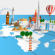Travel World Map - VideoHive Item for Sale