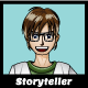 Teen Scientist Avatar for Profile Pic and Game Storyteller