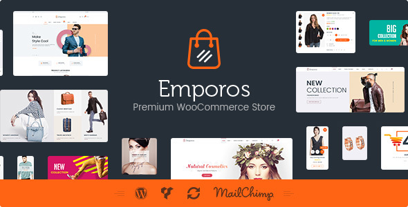 ThemeForest Emporos Responsive WooCommerce Theme 20419045
