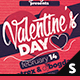 Valentine's Day Facebook Cover - GraphicRiver Item for Sale