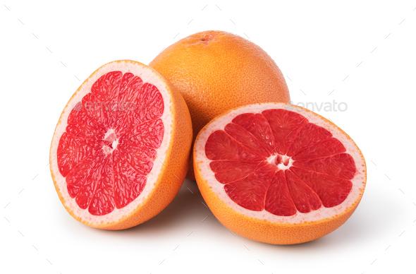 Grapefruit citrus fruit - Stock Photo - Images
