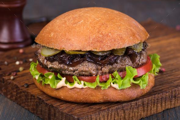 burger - Stock Photo - Images