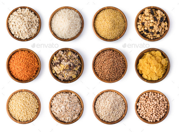 Cereals set - Stock Photo - Images