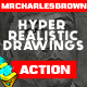 Pure Art Hand Drawing 153 – Hyper Realistic Drawings - GraphicRiver Item for Sale
