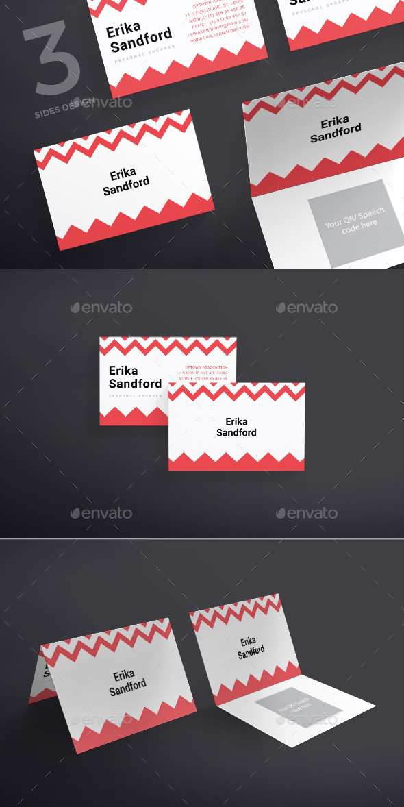 Personal Shopper Business Card - Business Cards Print Templates