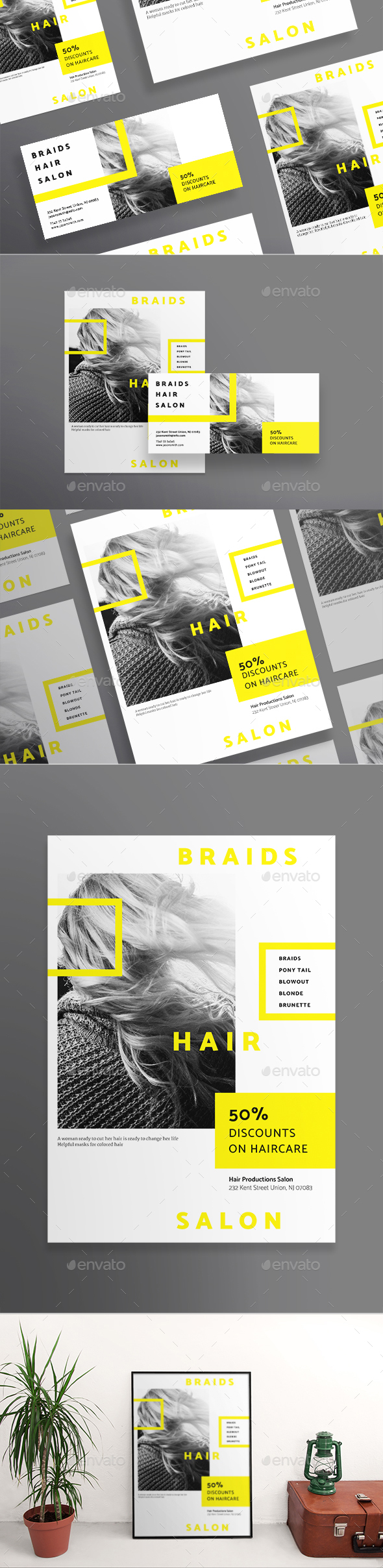 Hair Salon Flyers - Miscellaneous Events