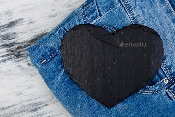 Denim. Jeans texture background. - Stock Photo - Images