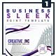 Business Sleek - Single Sided Flyer