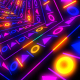 Tunnel Colorful Neon Disco - VideoHive Item for Sale