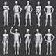 Lowpoly People Vacation Pack