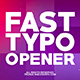 Fast Typo Opener - VideoHive Item for Sale