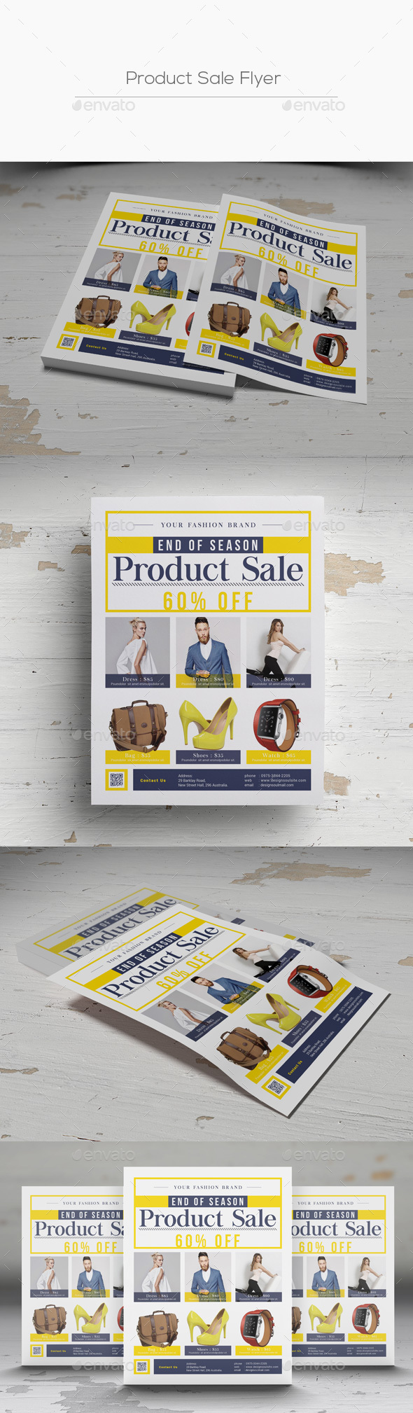 Product Sale Flyer - Commerce Flyers