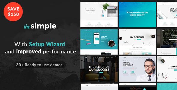 The Simple -  Responsive Multi-Purpose Business Theme