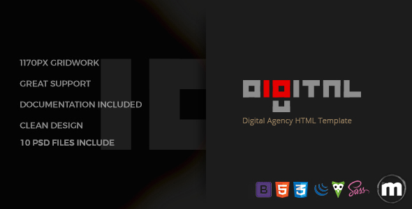 Digital - Business HTML Template
