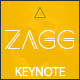 Zagg Keynote Presentation Template - GraphicRiver Item for Sale