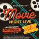 Movie Night/Movie Time Flyer - GraphicRiver Item for Sale