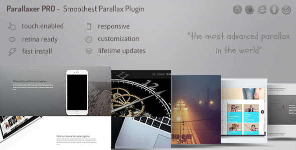 Ultimate Parallax Addon with Layers - Parallaxer for WPBakery Page Builder ( Visual Composer ) - CodeCanyon Item for Sale