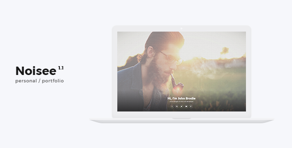 Noisee - Personal / CV / Resume HTML Template - Personal Site Templates